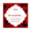 Valentine Apple Dumpling Square Hang Tag