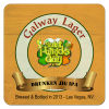 Galway Lager Square Irish Beer Coasters