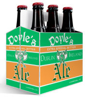 6 Pack Carrier Dublin plain 6 pack carrier and custom pre-cut labels