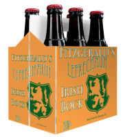 6 Pack Carrier Leprechaun plain 6 pack carrier and custom pre-cut labels