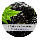 Blackberry Preserves Wide Mouth Ball Jar Topper Insert