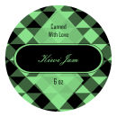 Kiwi Jam Wide Mouth Ball Jar Topper Insert