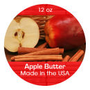 Apple Butter Wide Mouth Ball Jar Topper Insert