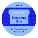 Blueberry Jam Wide Mouth Ball Jar Topper Insert