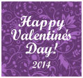 Valentine Serenity Horizontal Square Label