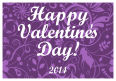 Valentine Serenity Horizontal Rectangle Label