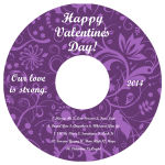 Valentine Serenity CD Label