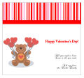 All You Need is Love Valentine Big Square Hang Tags 3.5x3.25