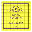 Pineapple Big Square Canning Labels 2.5x2.5