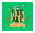 St Patricks Day Square Beer Labels