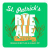 St Patricks Day Square Beer Coasters