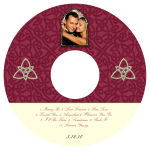 Celtic CD Wedding Label