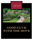 Covered Wagon Square Wine Labels