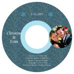 Empire CD Wedding Labels