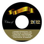 Congrats Graduation CD - DVD Labels