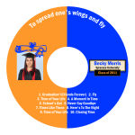 Graduate Graduation CD - DVD Labels