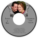 Imperial CD Wedding Labels