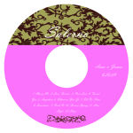 Rococo CD Wedding Label