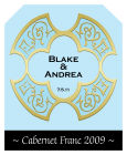 Medici Wine Wedding Labels