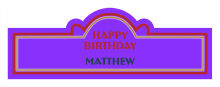 Age Birthday Billboard Cigar Band Labels