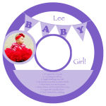 CD Baby Banner Labels 4.625x4.625