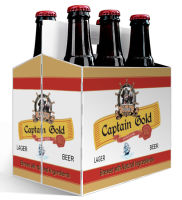 6 Pack Carrier Pirate includes plain 6 pack carrier and custom pre-cut labels