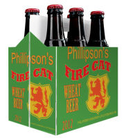 6 Pack Carrier Fire includes plain 6 pack carrier and custom pre-cut labels