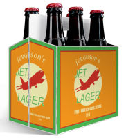 6 Pack Carrier Jet includes plain 6 pack carrier and custom pre-cut labels