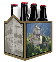 6 Pack Beer Carrier with Photo includes plain 6 pack carrier and custom pre-cut labels