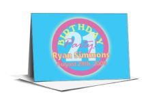 Party Birthday Note Card