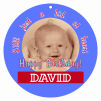 Kid Circle Birthday Favor Tag