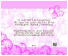 Bubbles Big Text Square Bath Body Labels