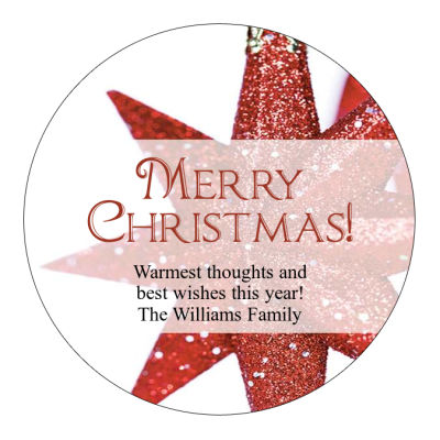 christmas star labels christmas labels christmas address labels