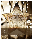 Big Rectangle Gold Star Christmas To From Hang Tag