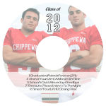 Colleggiate CD DVD Graduation Labels