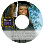 Drive CD DVD Graduation Labels