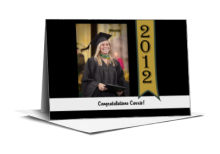 Best Wishes Graduation Note Card