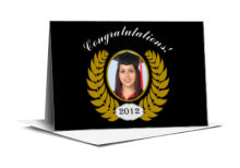 Crest Graduation Note Card