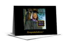 Drive Graduation Note Card