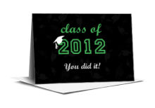 Hats Off Graduation Note Card