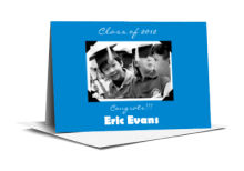 Scrapbook Graduation Note Card