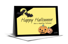 Corner Clipart Halloween Note Card