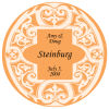 Mannerism Tangerine Wedding Coaster
