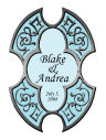 Medici Large Wedding Label