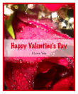 Photo Valentine Big Rectangle Labels 3.25x4