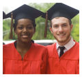Photo Square Graduation Labels