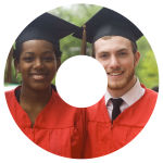Photo CD DVD Graduation Labels
