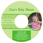 CD Baby Precious Labels 4.625X4.625