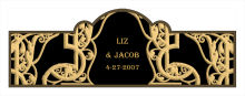 Renaissance Wedding Billboard Cigar Band Labels