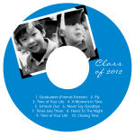Scrapbook CD DVD Graduation Labels